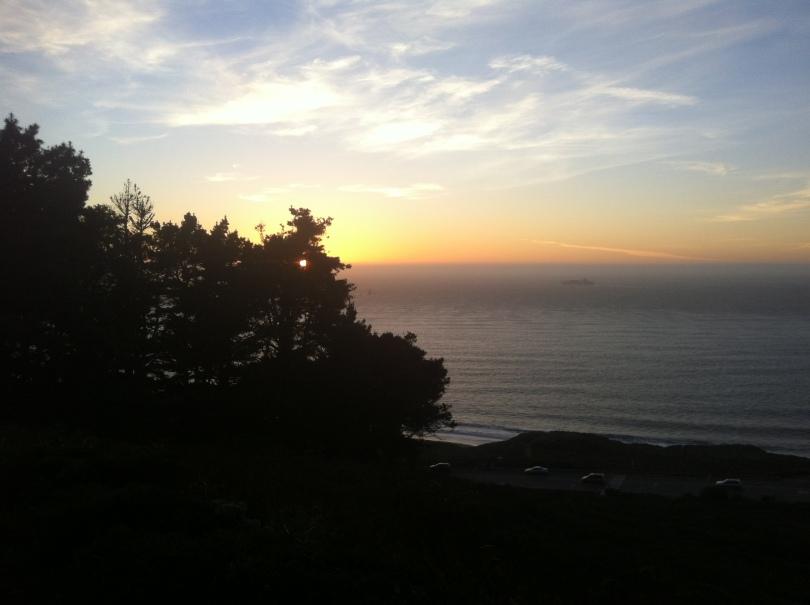 Presidio at Sunset